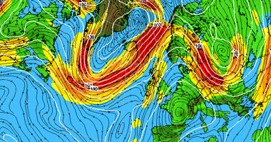 Jet Stream Maps