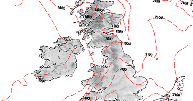 Snow risk maps